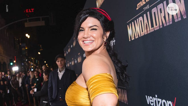 """The Mandalorian"" star Gina Carano is no longer part of the ""Star Wars"" franchise after sharing a series of incendiary social media posts and memes."