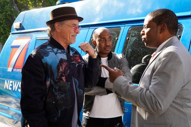 "Don Johnson, left, Chris Redd and Kenan Thompson star in the new NBC sitcom, ""Kenan."""