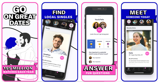 Whether it's finding love locally or starting a long-distance relationship, anything goes during a pandemic. OkCupid is one of the oldest apps and websites for matching singles.