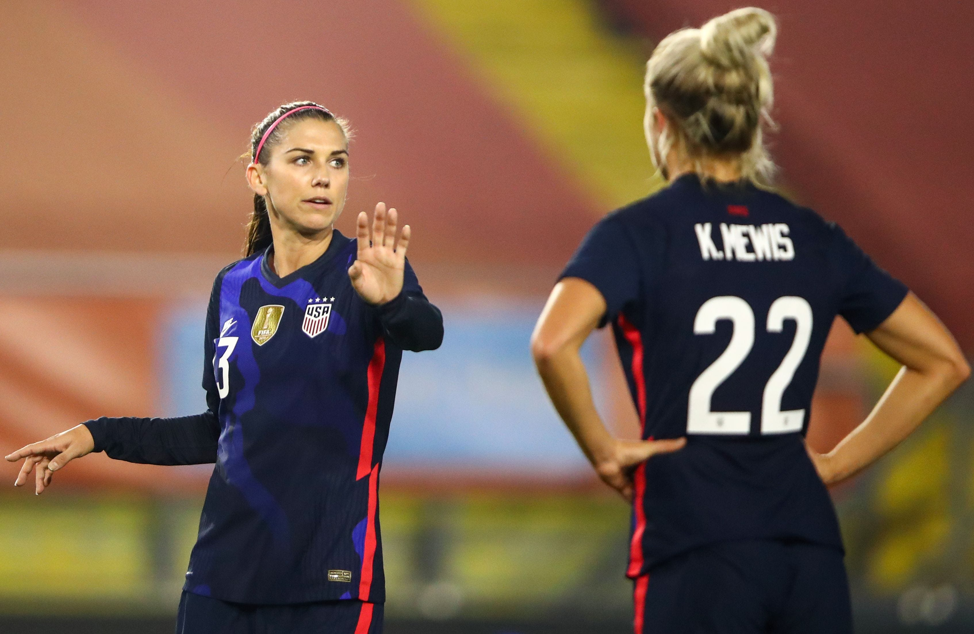 After giving birth and dealing with COVID-19, USWNT star Alex Morgan learns to go with flow
