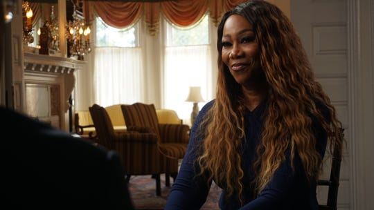 """Legendary gospel singer Yolanda Adams talks to host Henry Louis Gates Jr. as part of the PBS documentary, """"The Black Church: This Is Our Story, This Is Our Song."""""""