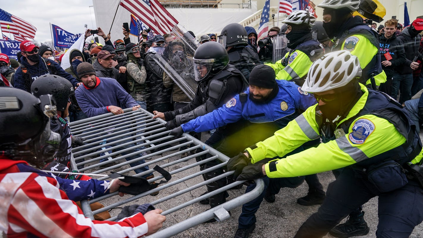 Investigators signal some Capitol riot suspects could be charged with conspiring to overthrow U.S. government