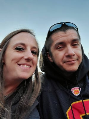 Heather Surovik and Nicholas Atencio lived in their car in a safe parking lot program in Longmont, Colorado before finding permanent housing late last year.