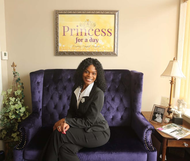Stephanie Singleton's Princess For a Day offers a small venue for micro-weddings and elopements. Demand for downsized weddings has grown during the COVID-19 pandemic.