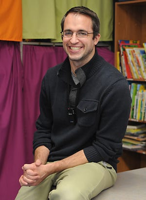 Adam De Monte of Alliance Early Learning School is the Alliance Review's Stark Federal Credit Union Teacher of the Month for February.