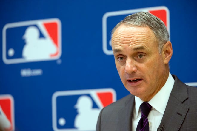 Commissioner Rob Manfred yanked the All-Star Game from Georgia.