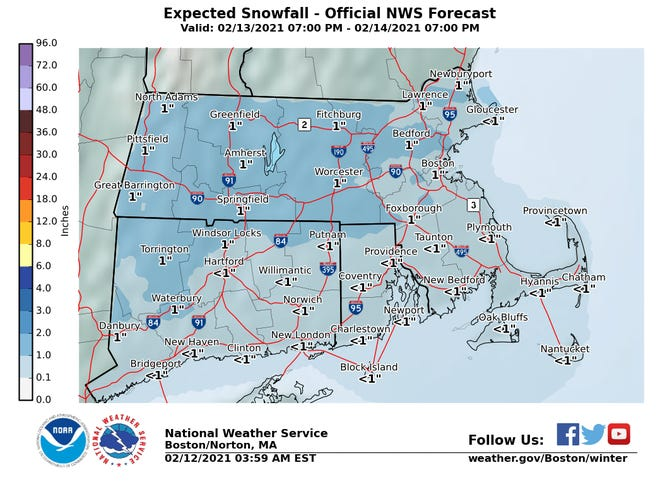 Cape Cod could see a little snow or sleet over the weekend.