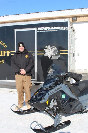 Cheboygan County Sheriff's Department Recreation Division Sergeant Earl Manuel recently took over the recreation division at the sheriff's department. He will be patrolling the trails throughout the county for the sheriff's department and enforcing the laws.