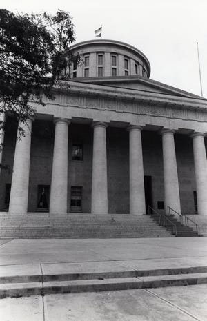 Ohio Statehouse in Columbus is shown in this 1981 photo.