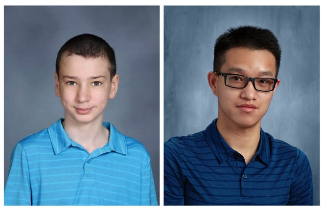 Joshua Friend, 13, and Feixiang Friend, 17 were killed Feb. 6 when the pickup truck Feixiang was driving hit an icy patch. The vehicle ended up in the Scioto River.