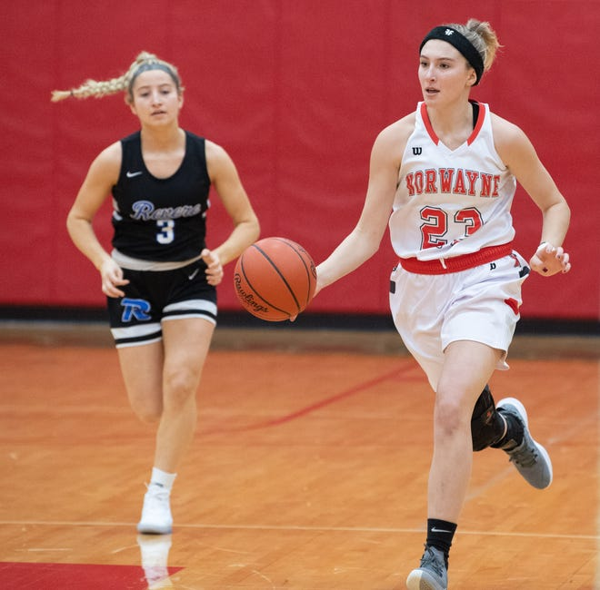 Caitlyn DeMassimo was the only player in the area to average at least 15 points, six rebounds and five assists per game during the 2020-21 basketball season.