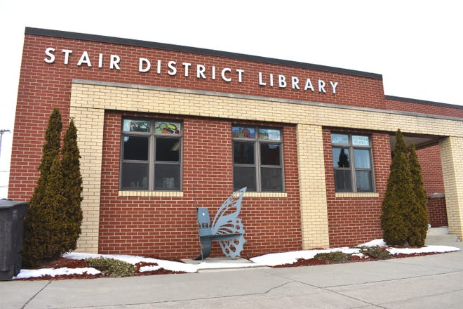 The Stair District Library in Morenci, pictured in this file photo, has been awarded a $3,000 grant from the American Library Association to help the library replace in some way, the local weekly newspaper in Morenci, The State Line Observer, which closed at the end of 2020.