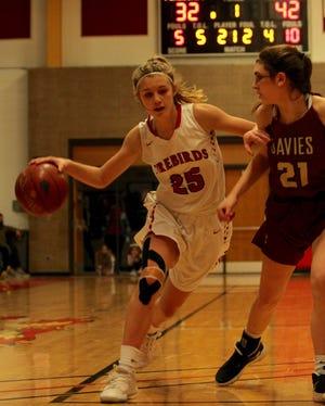 Devils Lake girls basketball fell to Fargo Davies, 67-64, on Feb. 11 at Devils Lake High School.