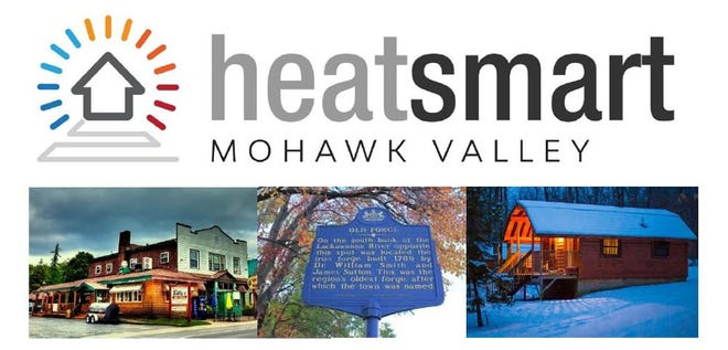 Shown here is the logo for HeatSmart Mohawk Valley, Adirondacks. Cornell Cooperative Extension has announced a webinar on heat pumps set for Feb. 24.