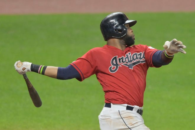 After years of terrorizing the Royals with the Cleveland Indians, first baseman Carlos Santana will join Kansas City's revamped lineup for the 2021 season.