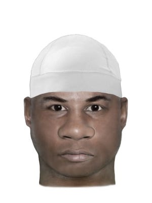 The  Jacksonville Sheriff's Office released this composite sketch following a reported Feb. 5 sexual assault.