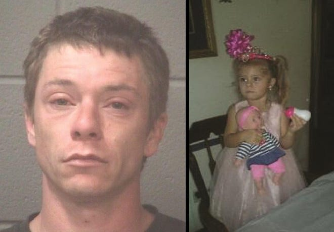 Adolphus Earl Kimrey II is charged with the death of 3-year-old Mariah Woods