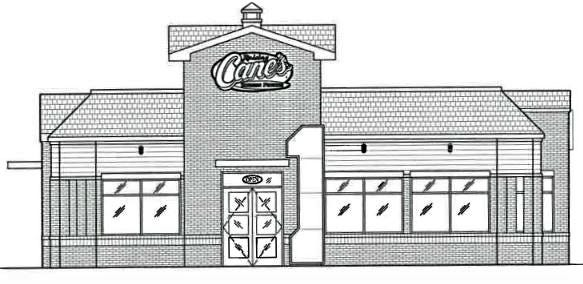 A spokesman for Raising Cane's chicken fingers restaurant said a May opening is anticipated for the former Steak-N-Shake location on Route 82 in the center of town.