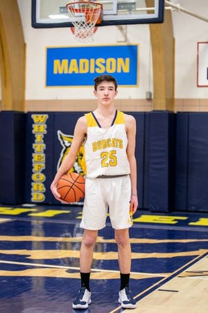 Josh Hill  Freshman Josh Hill helped Whiteford match its win total from 2019-20. [Courtesy photo]