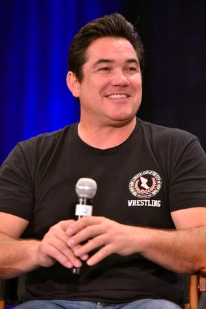 Dean Cain participates during a Q&A panel on day two at Wizard World at the Donald E Stephens Convention Center on Aug. 24, 2019, in Chicago. (Photo by Rob Grabowski/Invision/AP)