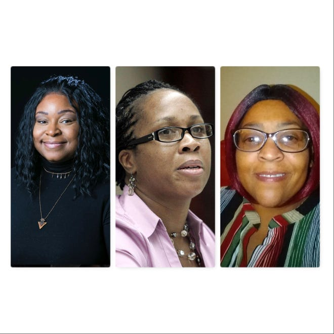Rockford residents Janessa Wilkins, Lisa Jackson and Joy Irving are candidates for 7th Ward alderwoman in the Feb. 23 primary election.