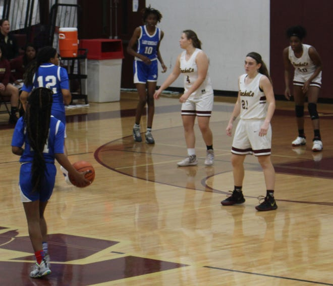The St. Augustine High girls play tough defense and will need to continue to do so when the Yellow Jackets face a high-scoring Melbourne Palm Bay team Thursday in the state Class 5A Final Four in Lakeland.