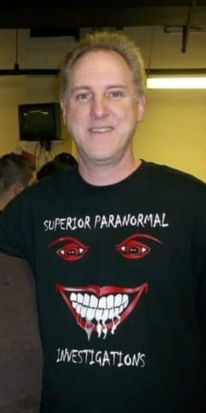 John Kennedy, lead investigator of Superior Paranormal Investigations.
