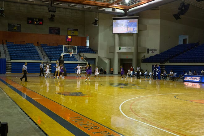 The Savannah State women's basketball team plays Benedict College on Thursday night at Tiger Arena, where spectators were not permitted because of health and safety protocols for the COVID-19 pandemic.