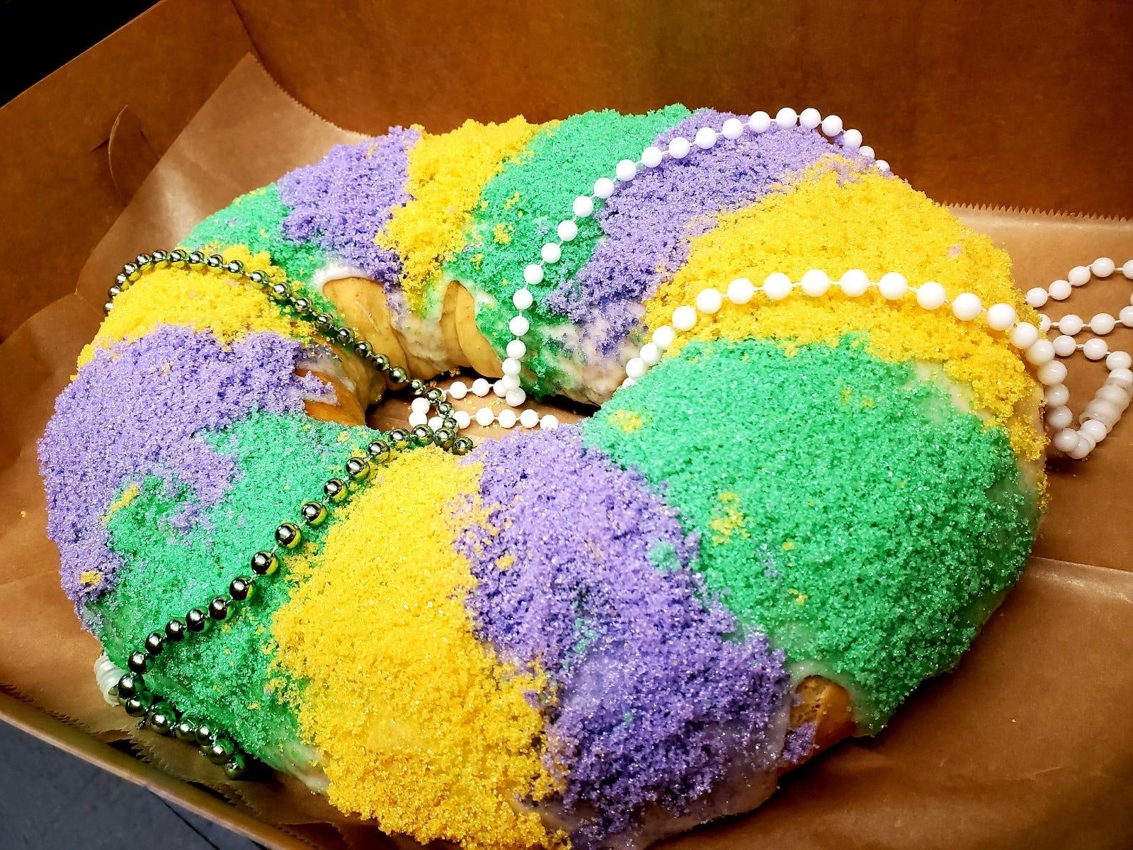 Mardi Gras Brings King Cakes To Oak Island Brunswick County