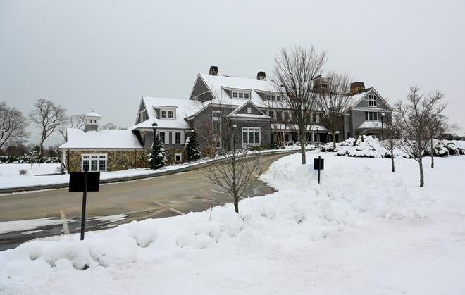 Tedesco Country Club in Marblehead on Tuesday, Feb. 9, 2021.