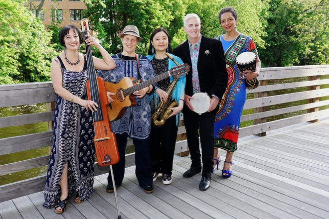 The Public Library of Brookline is celebrating Women's History Month with a virtual concert featuring Women in World Jazz at 2 p.m. March 6.