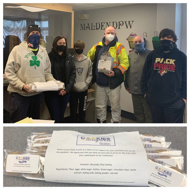DPW employees received cookies.