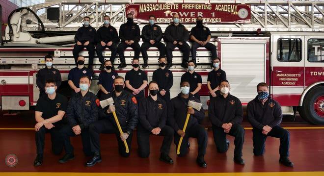 Matthew Rodenbush, of Stoughton Fire Department, recently graduated from the Massachusetts Firefighting Academy as part of Class No. BW08. Rodenbush completed the 50-day Career Recruit Firefighting Training Program.