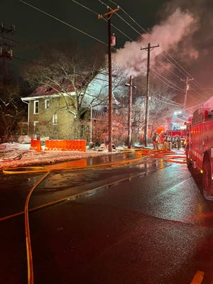 The Cincinnati Fire Department says a blaze in a vacant house in Avondale Thursday night resulted in $100,000-worth of damage.