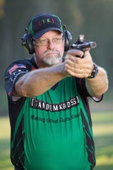Dwight Stearns, a longtime law enforcement officer, was a competitive shooter and firearms instructor for the Iowa Law Enforcement Academy.