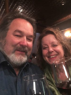 Steve and Andrea DeBaker's Trout Springs Winery sells between 3,000 and 4,000 cases of wine a year.
