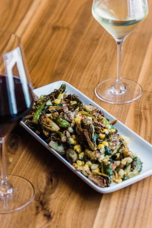 Louvino is including brussels sprouts salad in its offering for Louisville Restaurant Week 2021.