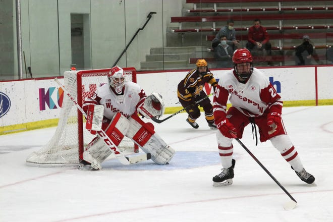 Graduate transfer Robbie Beydoun has allowed 2.44 goals per game and has a .925 save percentage in 11 games.