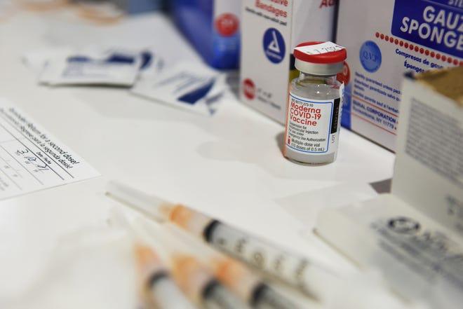 Covid-19 Moderna vaccines.