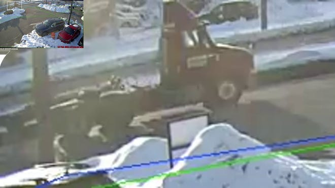 Hudson County officials are asking the public to help identify this truck possibly involved in a hit and run.