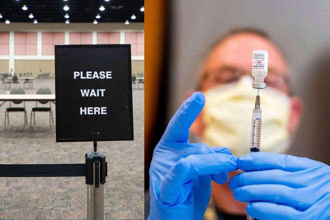 No more COVID-19 vaccine appointments at the Palm Springs Convention Center.