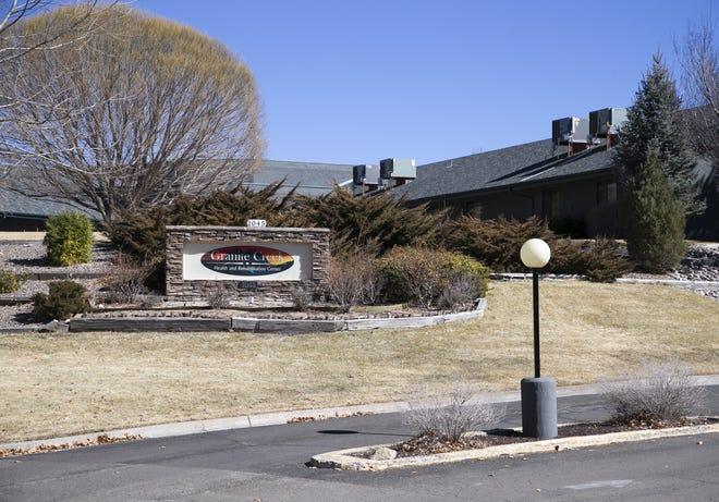Granite Creek Health and Rehabilitation Center in Prescott on Feb. 11, 2021.