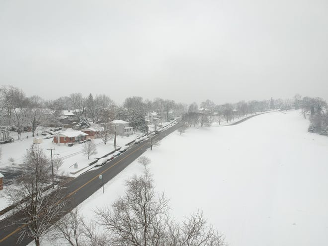 Snow in Staunton