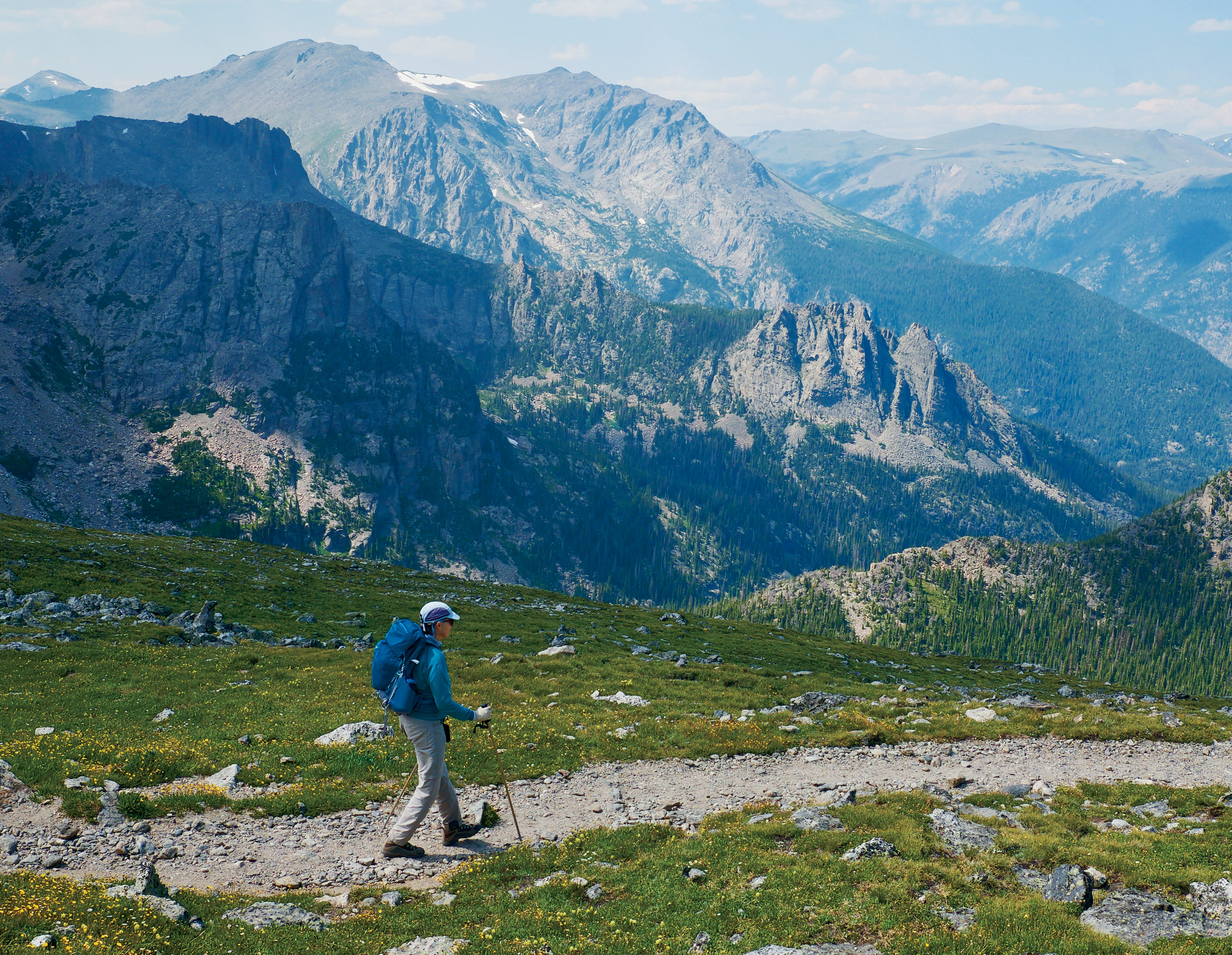 Plan your next hike at one of these mountain trails with sweeping views, physical challenges