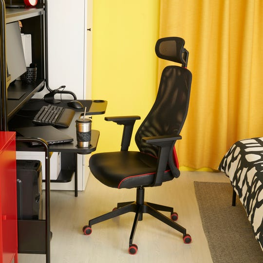 The Matchspel gaming chair from Ikea.