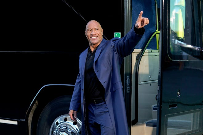 "Dwayne Johnson is running for president in ""Young Rock,"" a sitcom inspired by his upbringing."