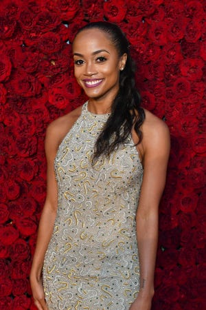 Rachel Lindsay calls out Chris Harrison during her podcast with Van Lathan.