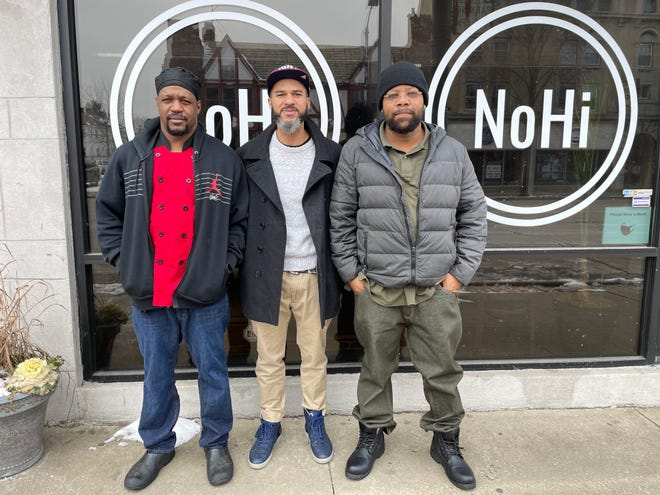 Akron entrepreneurs Gary Patterson Jr, Joe Mercury and Brandon Holman's Oasis Surf & Turf will take over the kitchen at the NoHi Pop-Up in Akron's North Hill neighborhood this weekend.