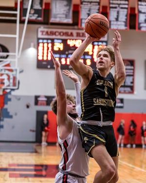 Amarillo High senior Owen Boyett goes for the shot during Friday's win over Tascosa. [Tom Carver/for the Amarillo Globe-News]