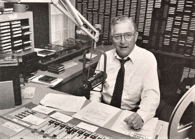 George Fisher was a popular radio broadcaster in Augusta for more than four decades.